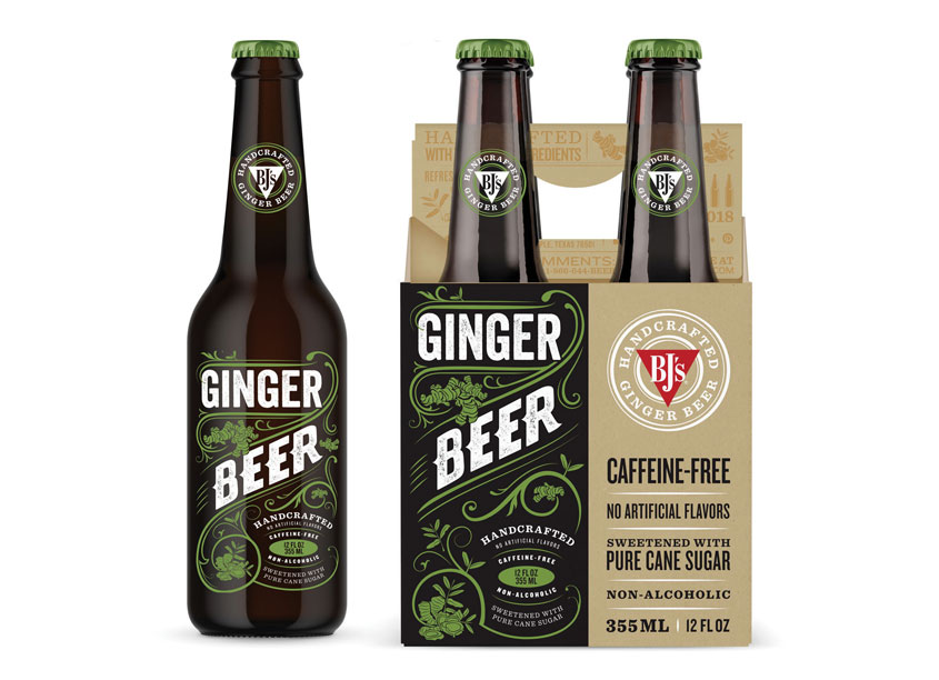 Saputo Design Inc. BJ's Brewhouse Ginger Beer