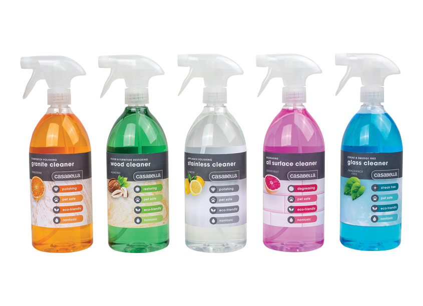 TJX Cleaning Solution Line by Casabella/Bradshaw Home