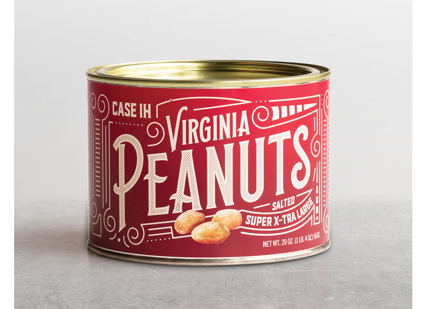 Case IH Virginia Peanuts Packaging by Equity Creative