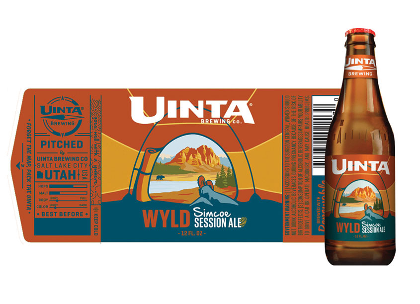 Inland Packaging Wyld Simcoe Session Ale