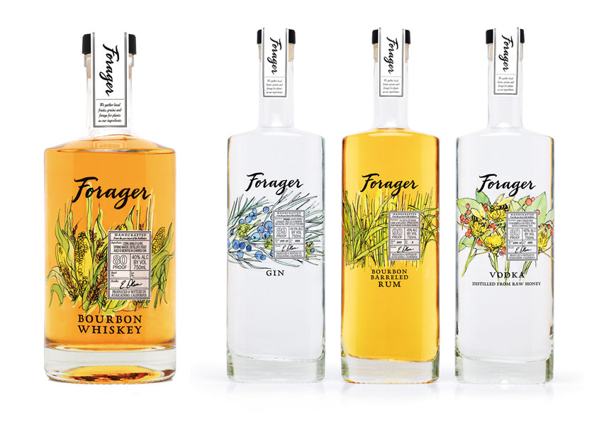 Forager Packaging by Mark Oliver Inc.