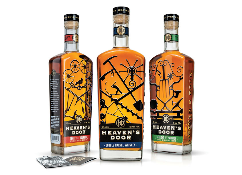 Heaven's Door Whiskey by Berlin Packaging - Studio One Eleven