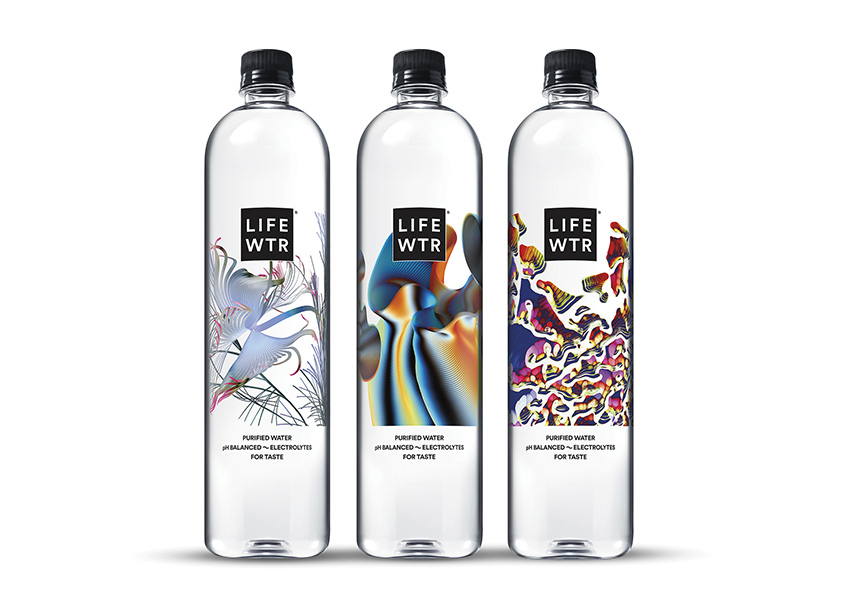LIFEWTR Series 7: Art Through Technology  by PepsiCo Design & Innovation
