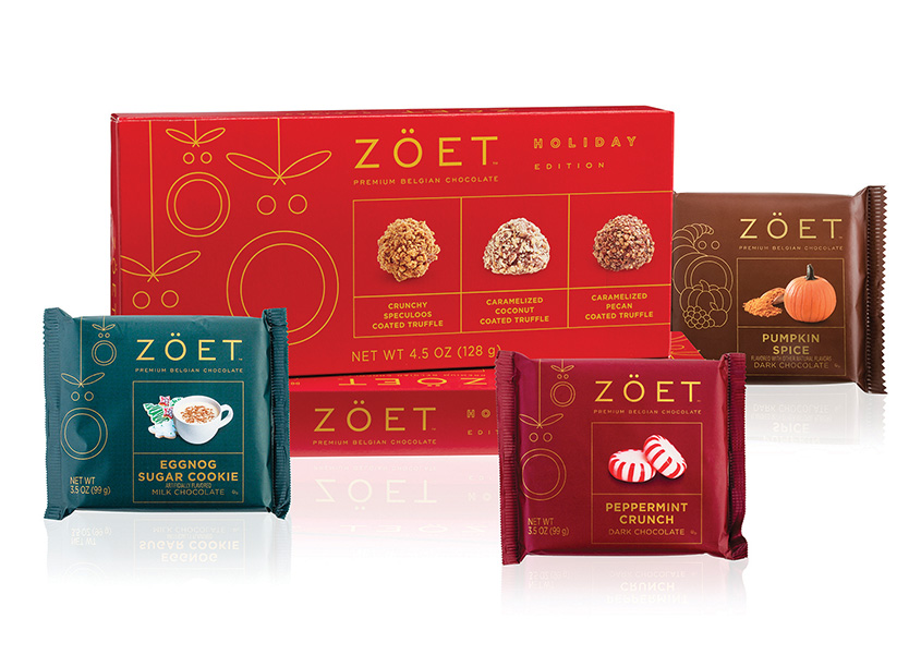 Zoet Holiday Chocolates by Meyocks