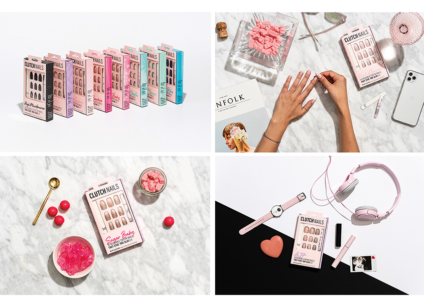 Clutch Nails Rebrand by BexBrands