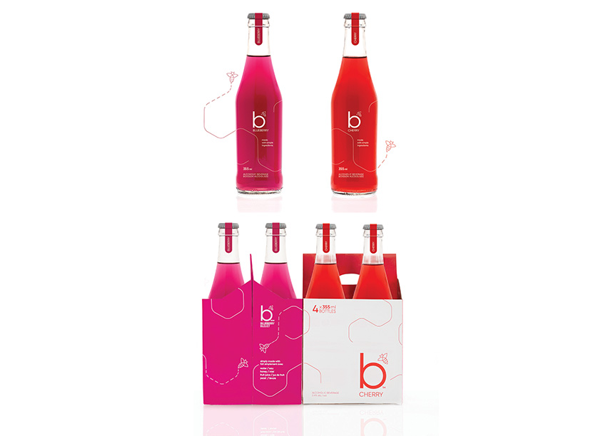 'B' Package Design by Invok Brands
