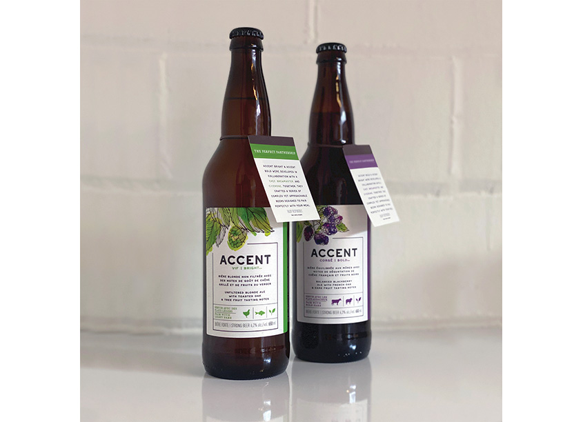Accent Beer Package Design by Invok Brands