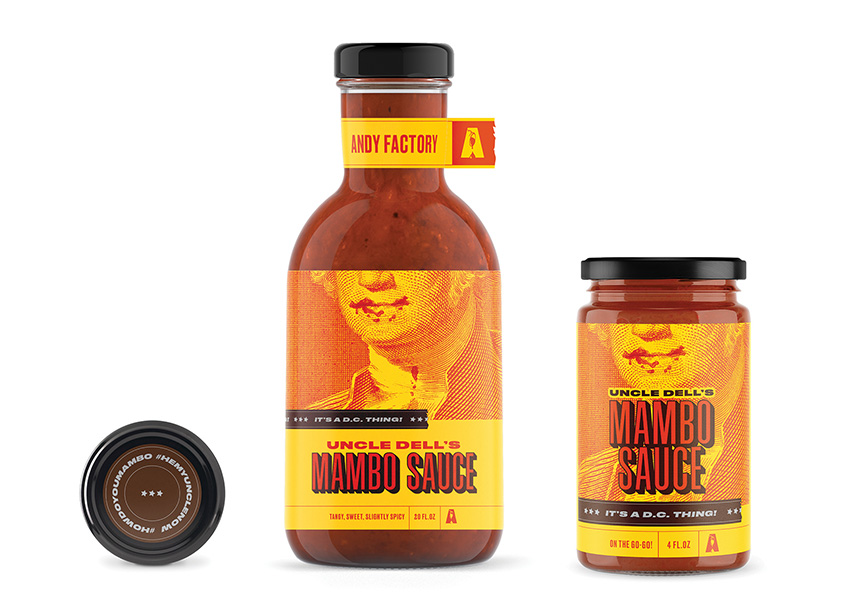 Octavo Designs Uncle Dell's Mambo Sauce