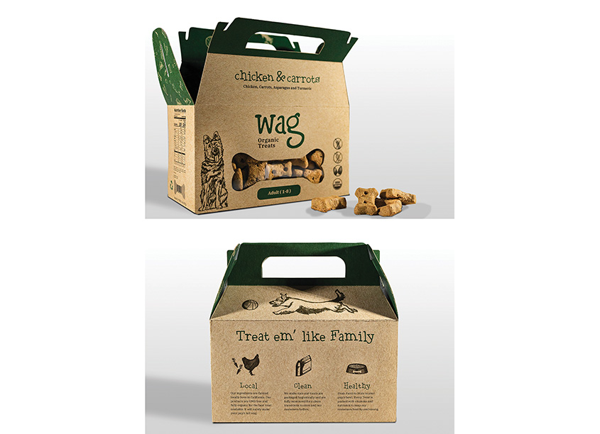 Wag Organic Dog Treats by Texas Christian University (TCU)