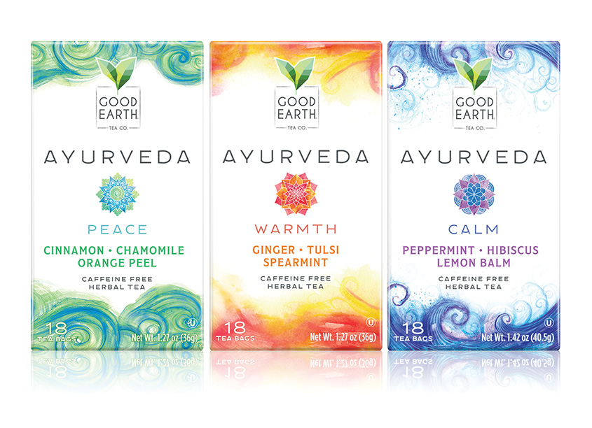 Good Earth Ayurveda Tea by Barnett Design, Inc.