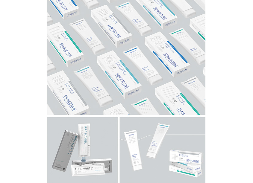 Sensodyne Packaging Concept by Pratt Institute