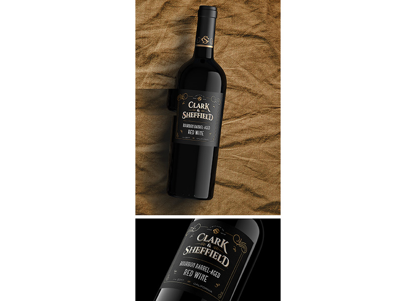 Clark & Sheffield Wine Package by Fetzer InHouse Creative