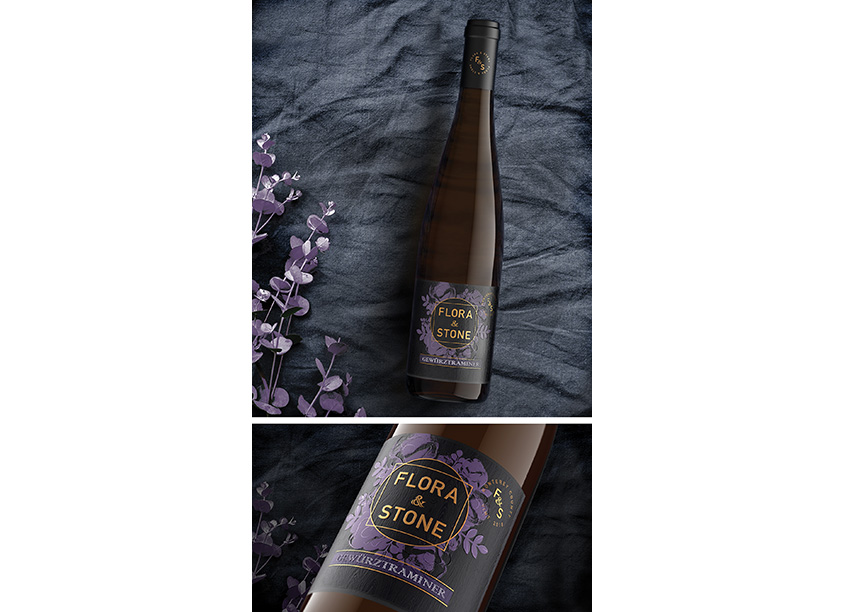 Flora & Stone Wine Package by Fetzer InHouse Creative