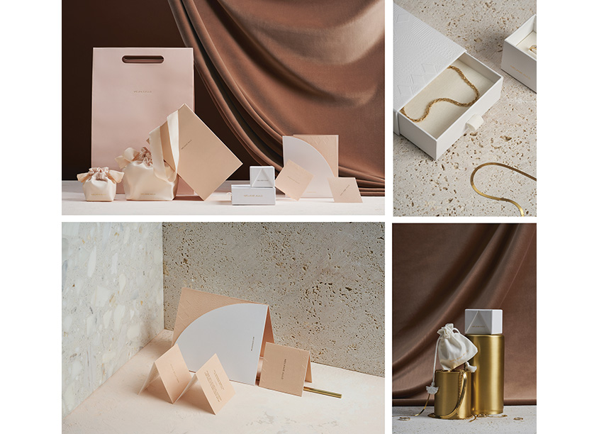 Arithmetic Melanie Auld Jewelry Package Design