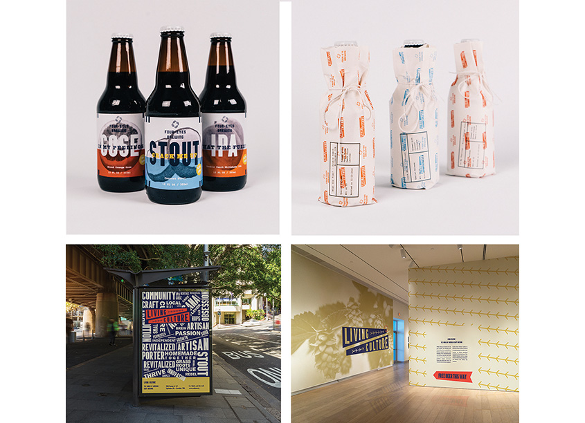 Living Culture Beer Package Design by Savannah College of Art and Design (SCAD)
