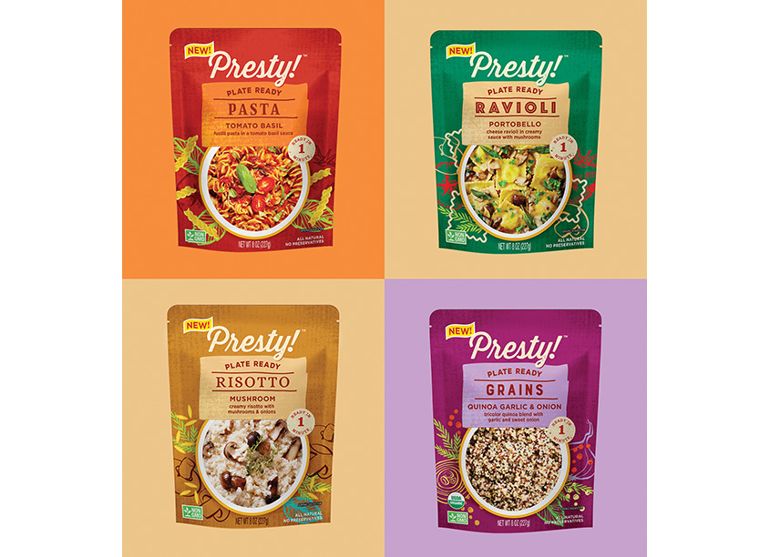 Presty! Plate Ready Meals Redesign by DES!GNOLOGY, LTD