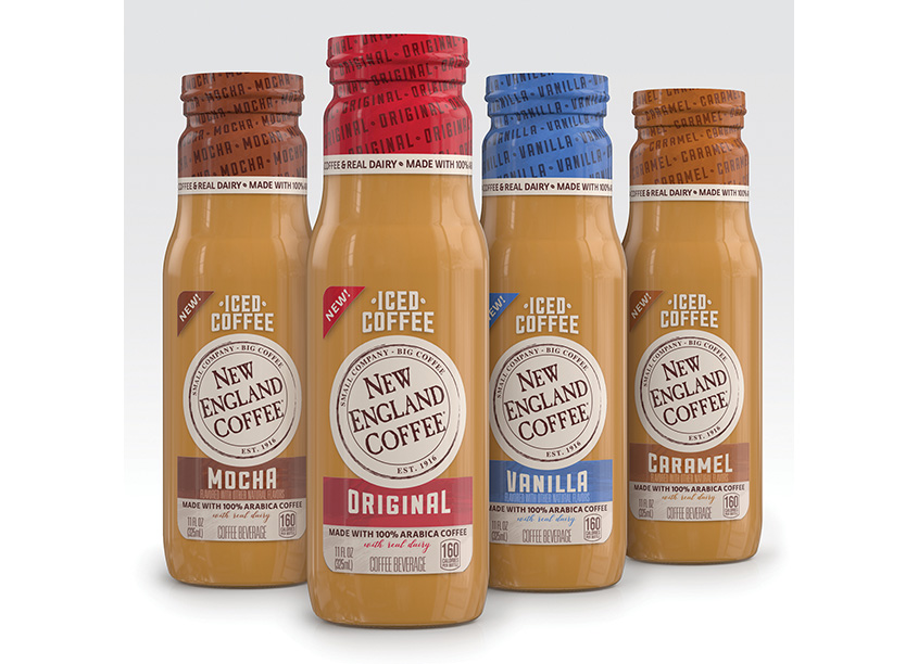 New England Coffee Premium RTD Iced Coffee Launch  by SnapDragon