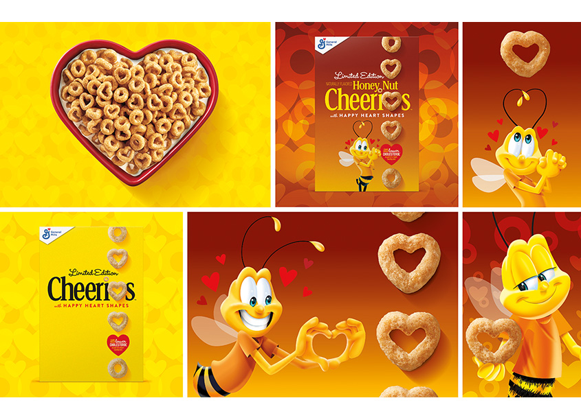 Cheerios Heart Shaped by Ultra Creative