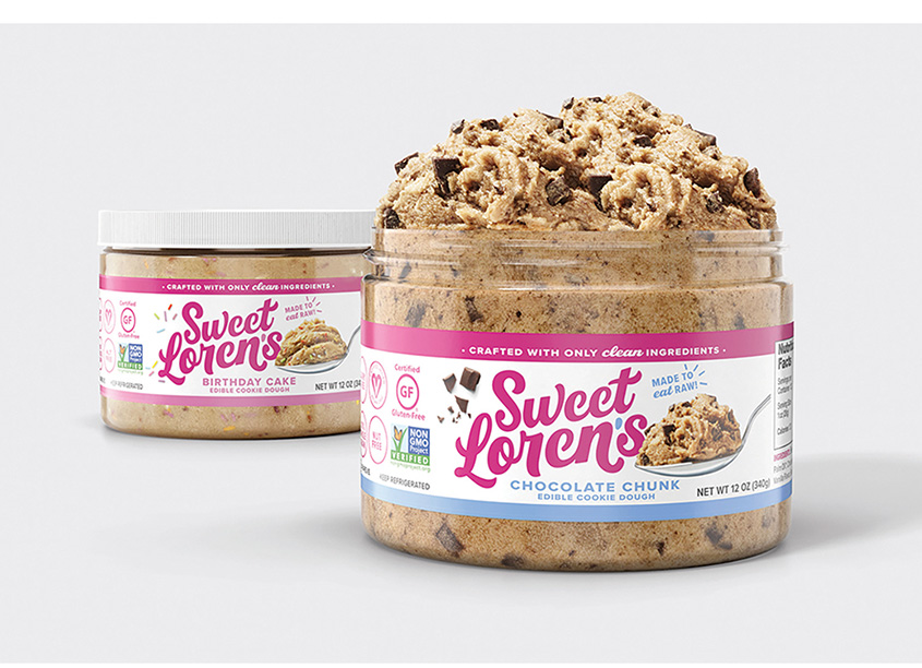 Sweet Loren's Cookie Dough by FutureBrand