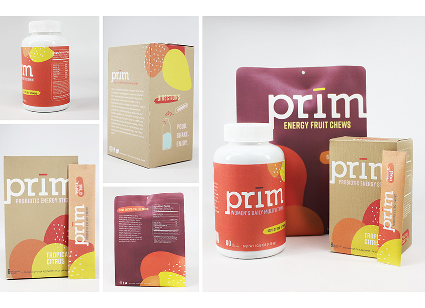 Auburn University School of Industrial + Graphic Design Prim Health Essentials