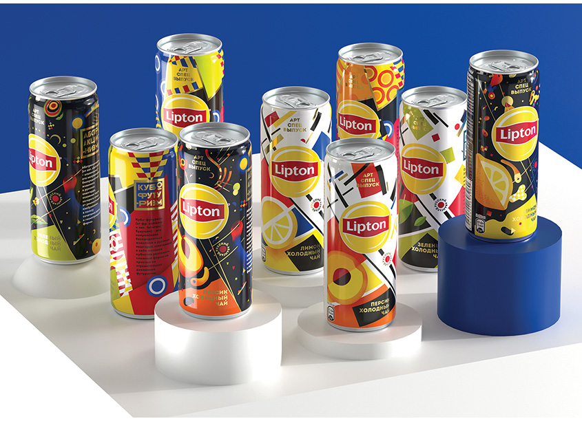 Lipton Art Special Edition - Russia  by PepsiCo Design & Innovation