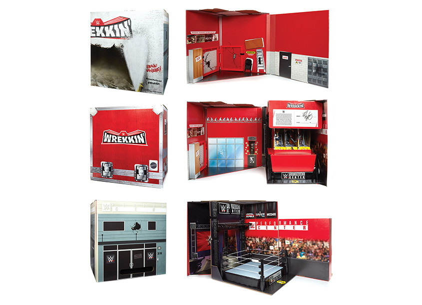 Mattel, Inc. WWE® Wrekkin' Performance Center Influencer Kit