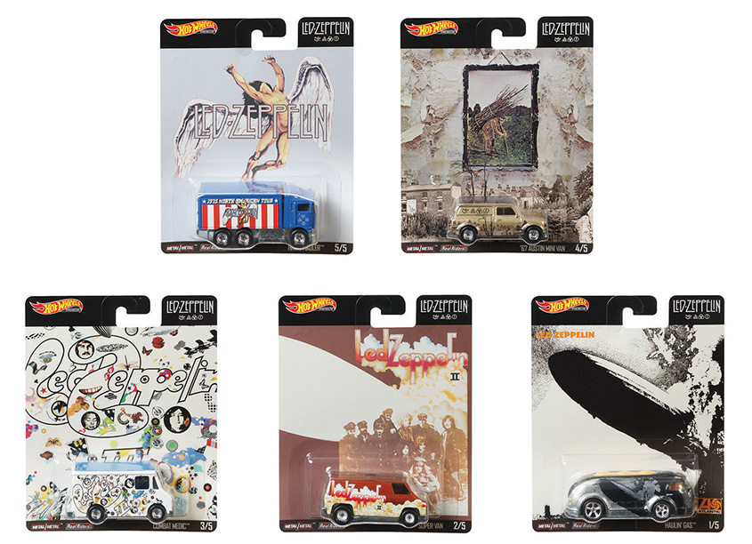 Mattel, Inc. Hot Wheels® Pop Culture-Led Zeppelin Assortment