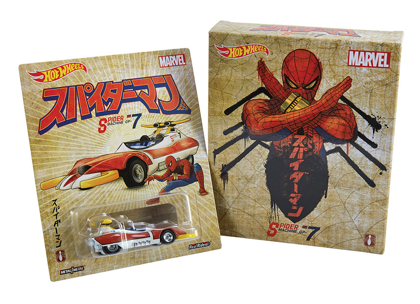 Mattel, Inc. Hot Wheels® Japanese Spider-Man Comic Con Exclusive