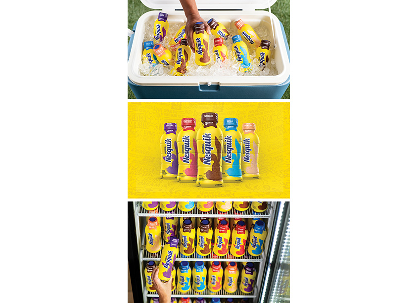 Nestlé Design Packaging Teams | Chase Design LA Nesquik Redesign