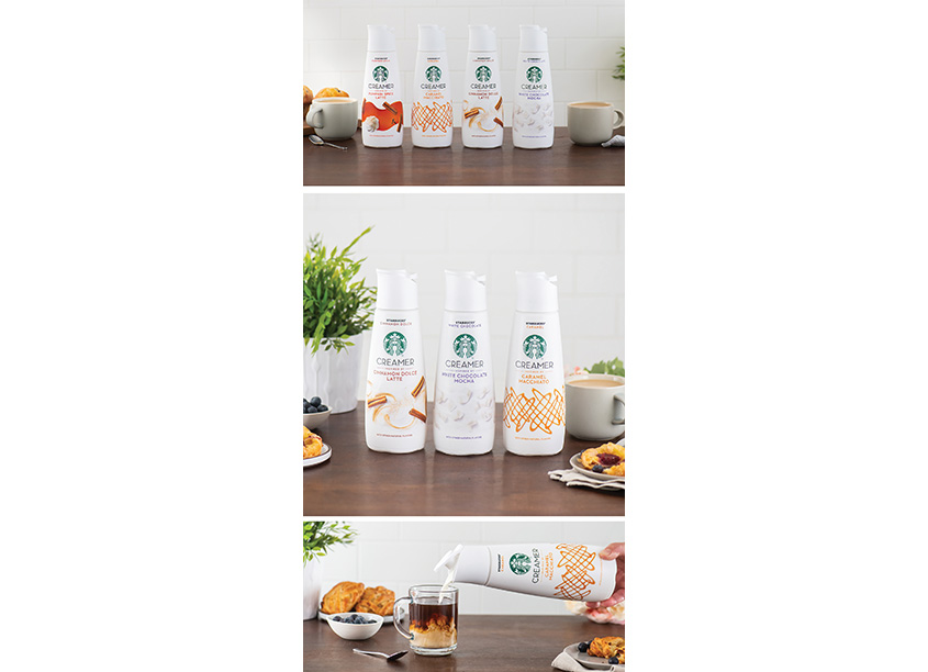 Starbucks Creamers Design  by Nestlé Design Packaging Teams | Sterling Brands