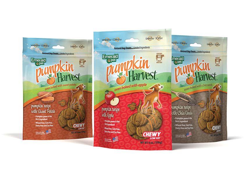 Pumpkin Harvest Dog Treats by Mark Topczewski Creative, LLC