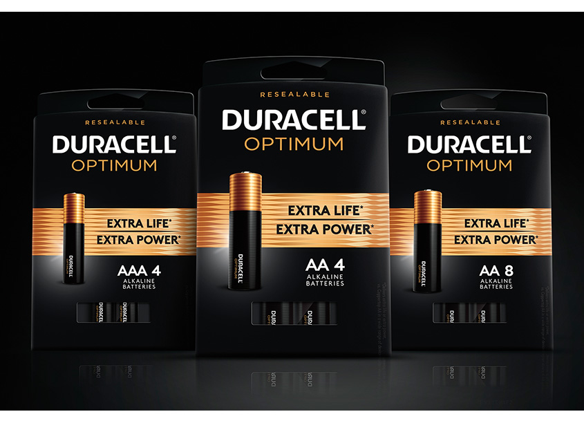Duracell Optimum New Product Package Design & Brand Activation by LAM Design