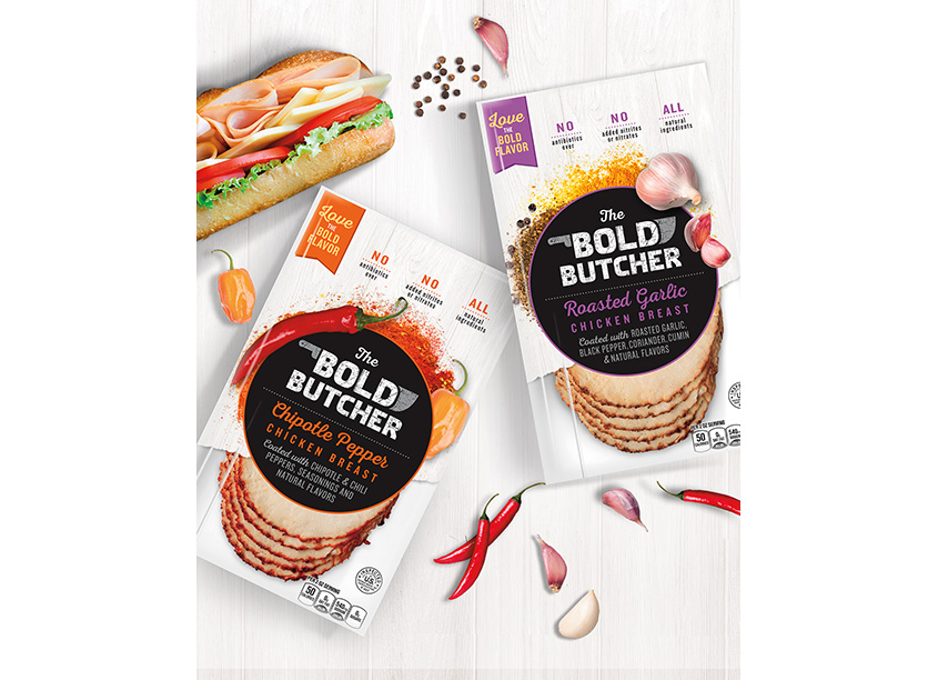 Bold Butcher Brand Invention & Package Design Program by LAM Design