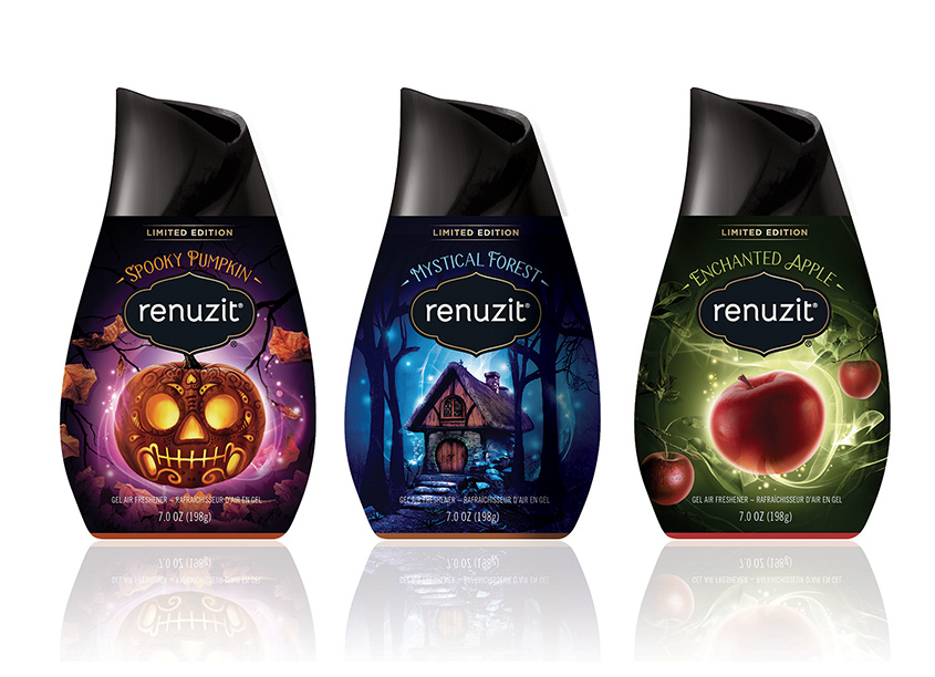 Renuzit Seasonals Halloween Packaging Design by Smith Design