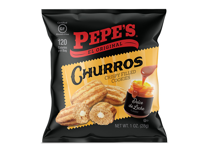 Pepe's Churros Package Design by Levitskie Creative