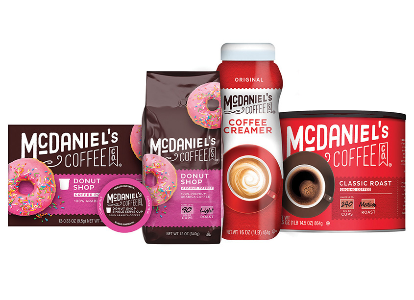 McDaniel's Coffee Packaging by Marks Design