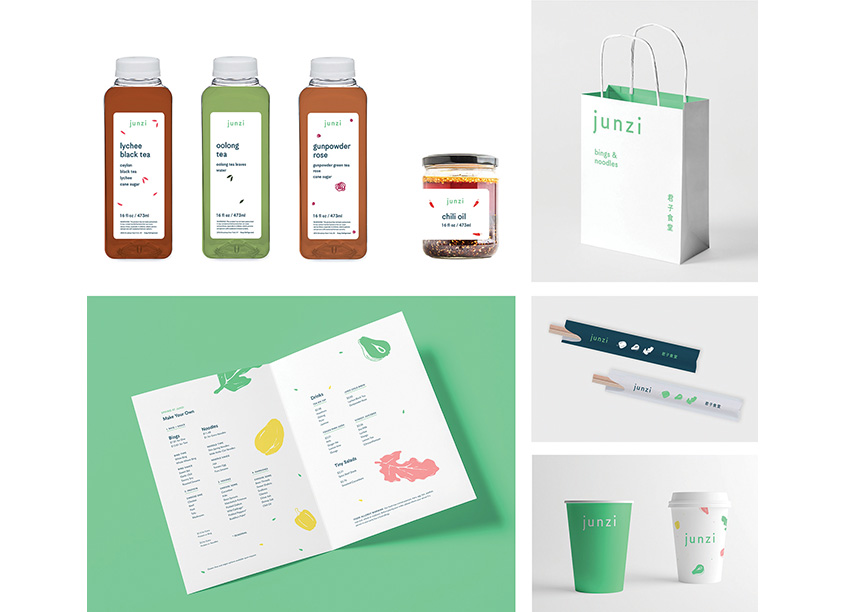 Junzi Branding and Identity by Isometric Studio
