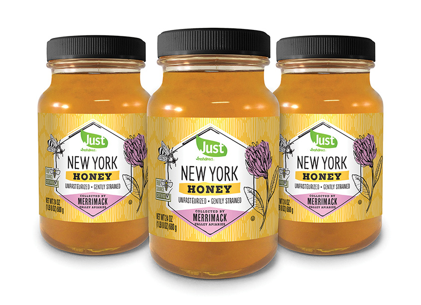 New York Honey Packaging by Daymon Creative Services