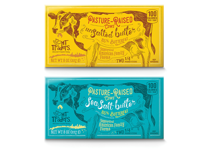 HT Traders Butter Packaging by Daymon Creative Services