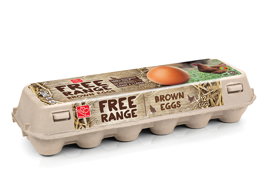 Free Range Eggs Packaging by Daymon Creative Services