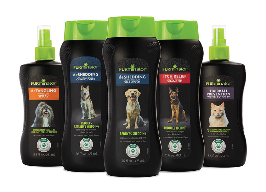 FURminator® Pet Shampoos, Conditioners and Grooming Sprays by Spectrum Brands