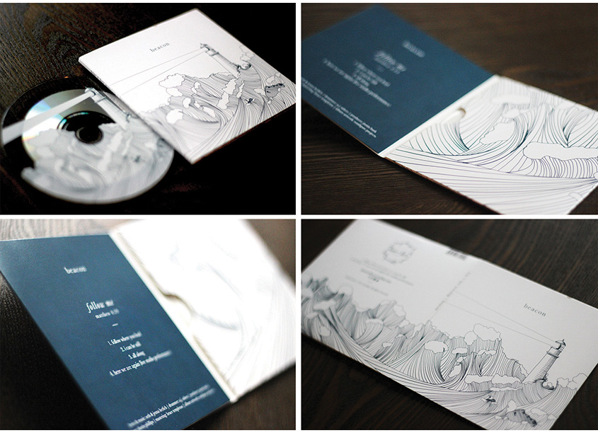 Beacon CD Packaging by Southpaw Projects, LLC