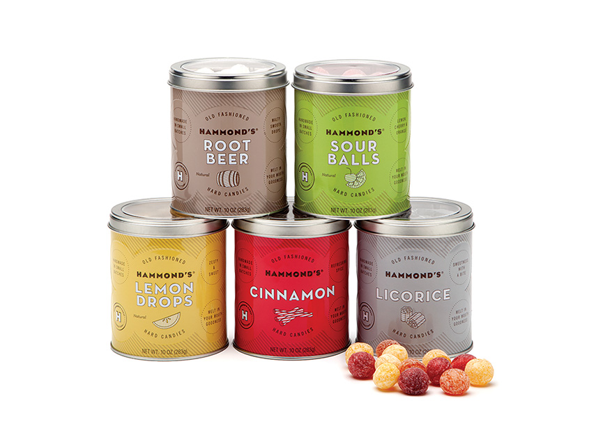 Pantry Candy Tins by Ellen Bruss Design