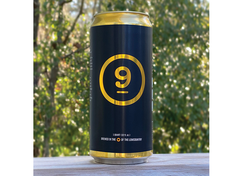 lot 9 Crowler Label by Triad Design Group