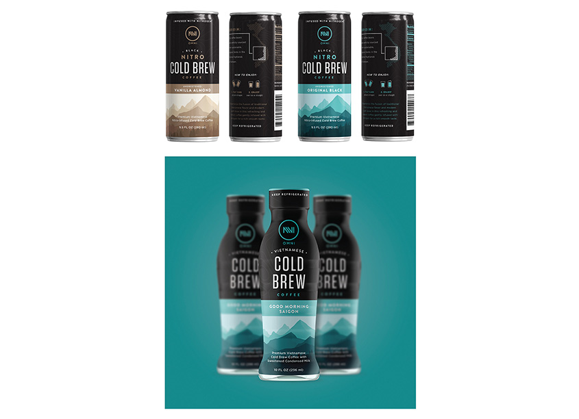 Thank God It's Monday (TGIM) Cold Brew Coffee Packaging