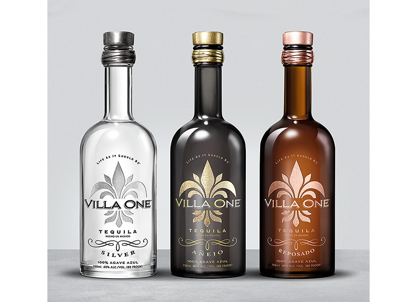 Villa One Tequila by Jon Cisler Design