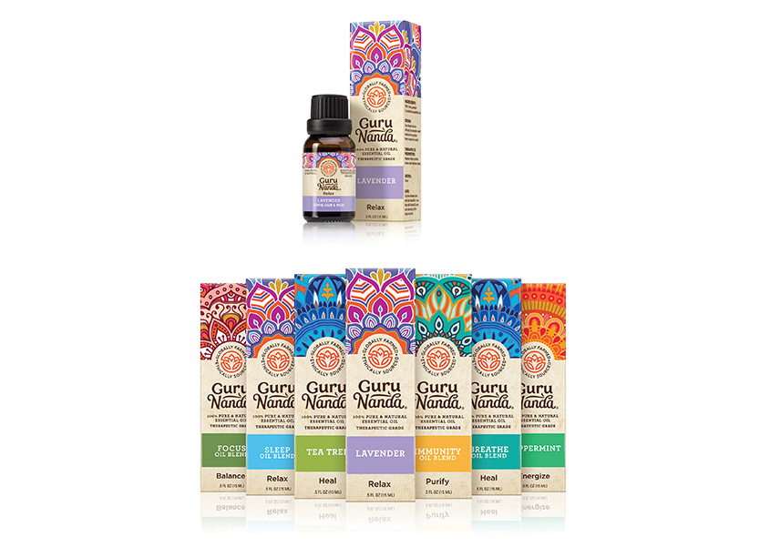 Gurunanda Esssential Oils by Little Big Brands