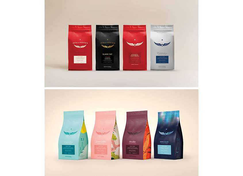Pearlfisher Intelligentsia Coffee Bag Portfolio Redesign