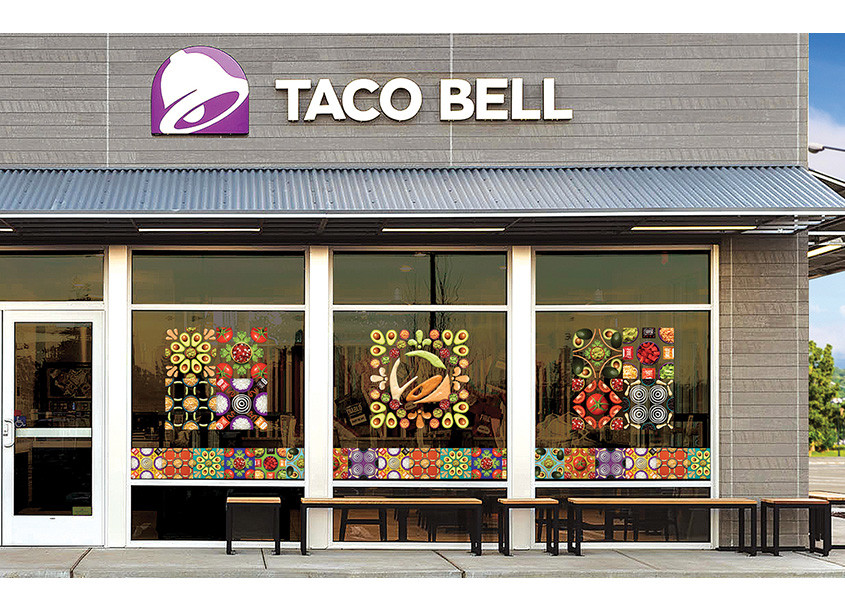 Taco Bell Design Fast Good (Pop Mex) Campaign