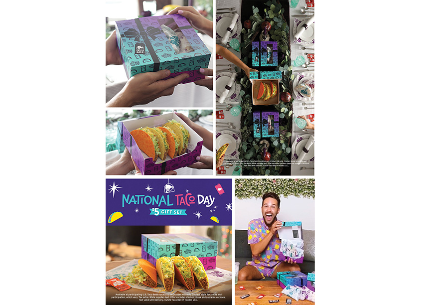 National Taco Day Box by Taco Bell Design